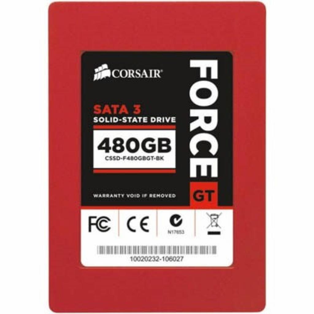 """Накопитель SSD 2.5"""" 480GB CORSAIR (CSSD-F480GBGS-BK)"""