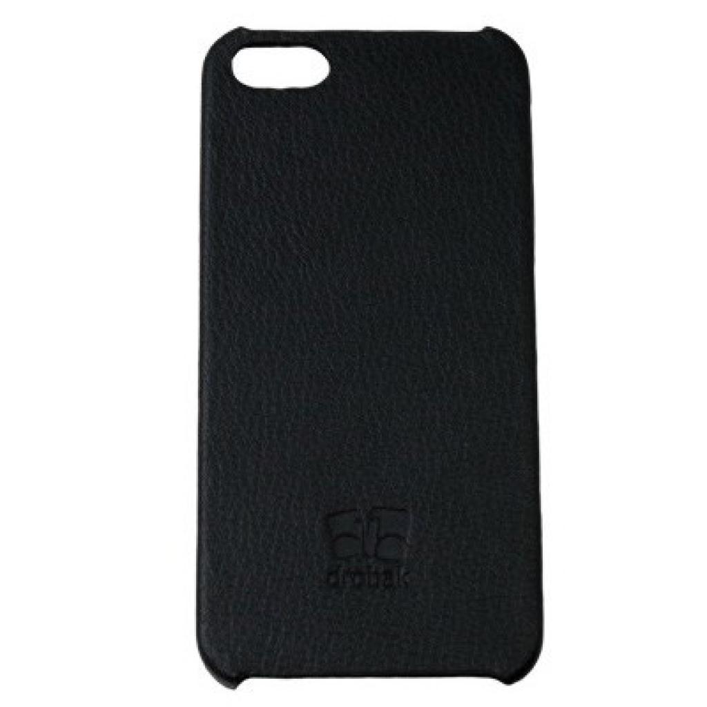 Чехол для моб. телефона Drobak для Apple Iphone 5 /Stylish plastic/Black (210226)