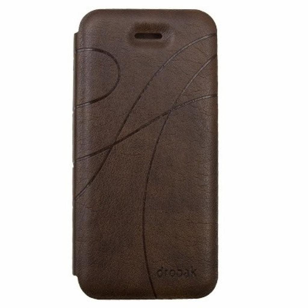 Чехол для моб. телефона Drobak для Apple Iphone 5 /Oscar Style Brown (210250)