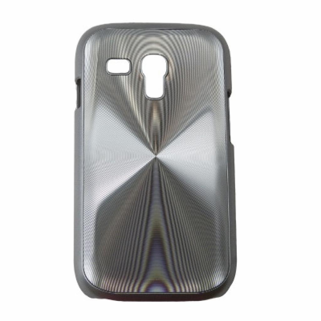 Чехол для моб. телефона Drobak для Samsung i8190 Galaxy S III mini /Aluminium Panel/Silver (215226)