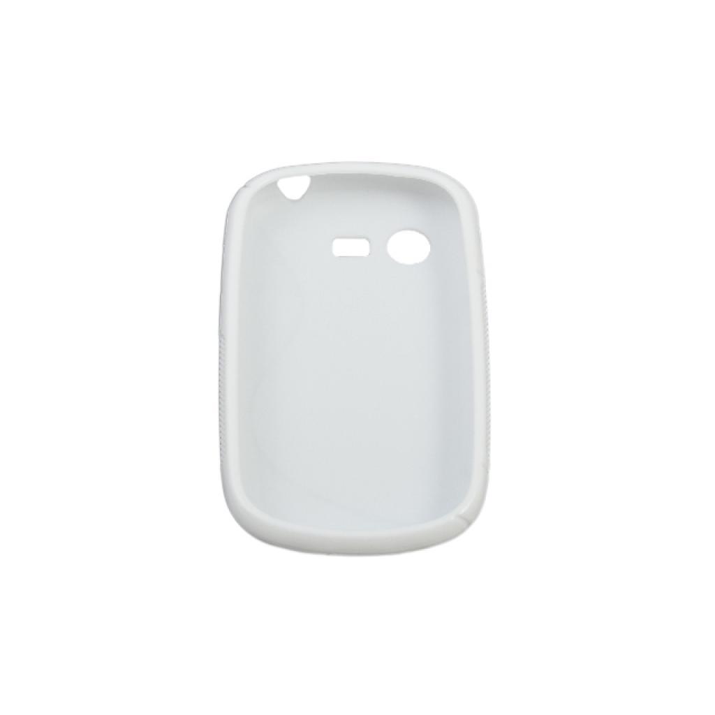 Чехол для моб. телефона Drobak для Samsung S5282 Galaxy Star /Elastic PU/White (215216) изображение 2
