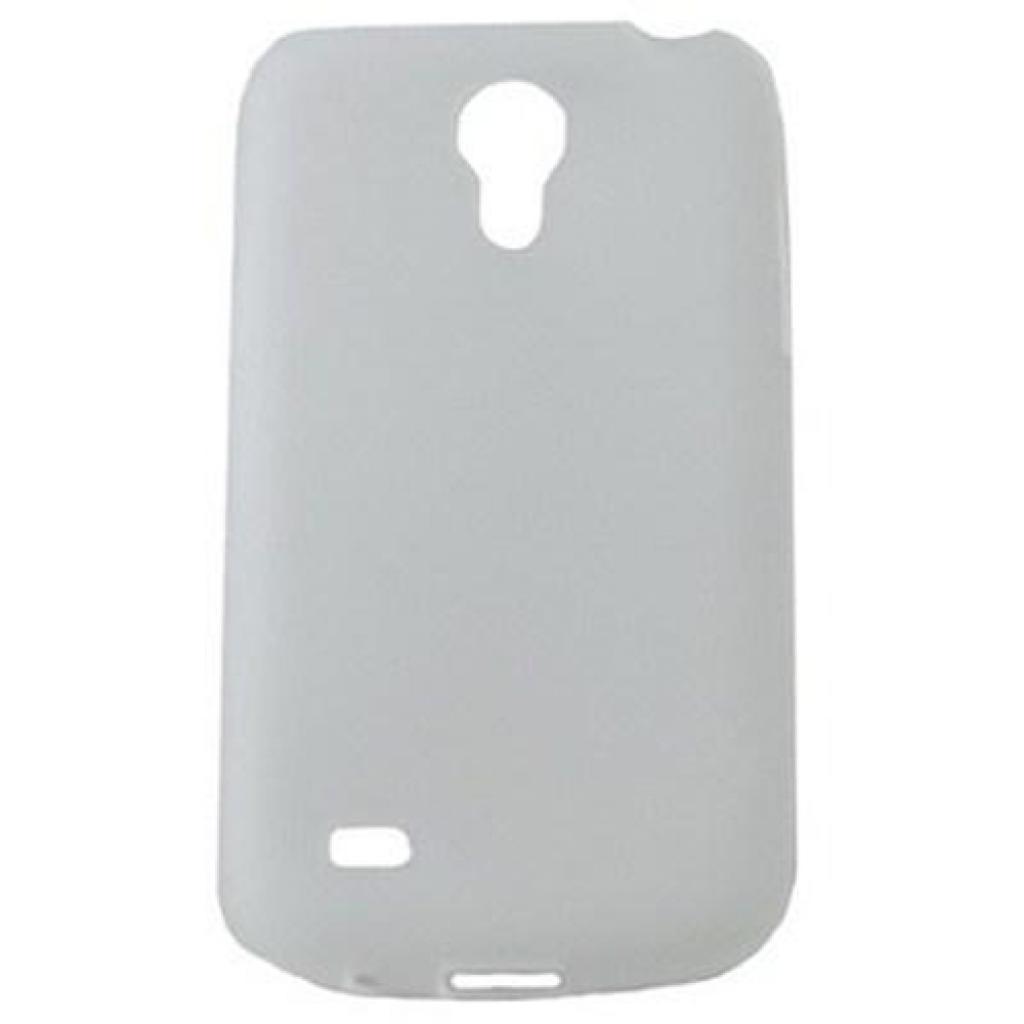 Чехол для моб. телефона Drobak для Samsung I9192 Galaxy S4 mini/ElasticPU/WhiteClear (216040)