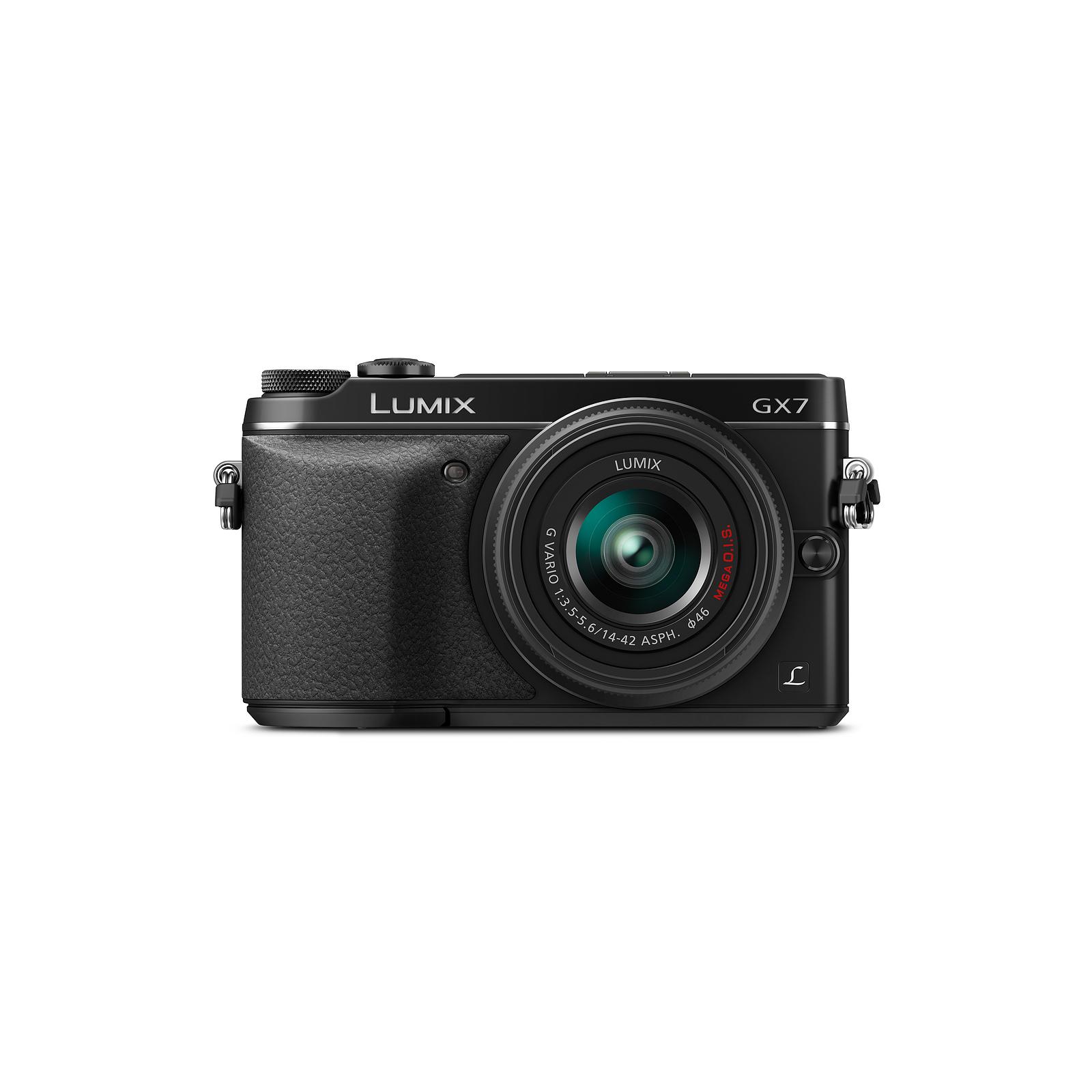 Цифровой фотоаппарат PANASONIC DMC-GX7 Kit 14-42mm black (DMC-GX7KEE-K) изображение 5