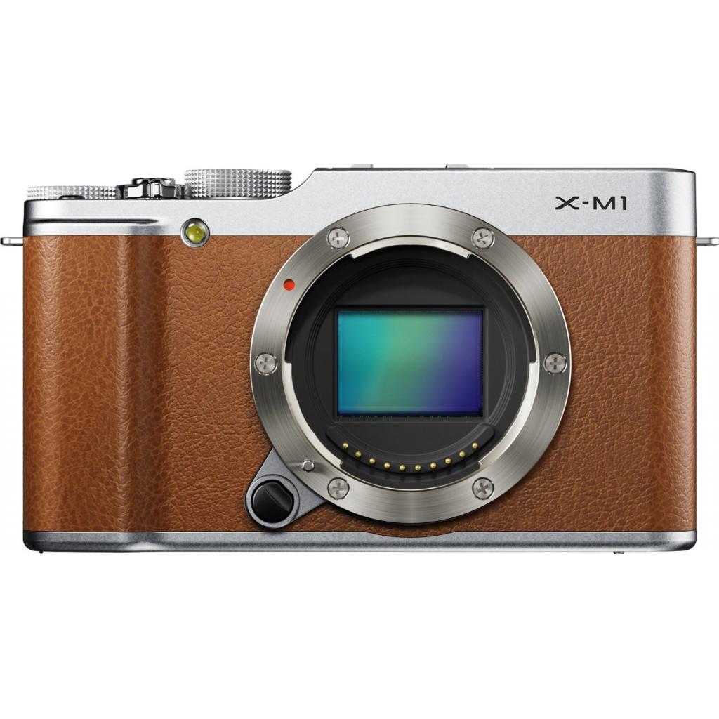 Цифровой фотоаппарат Fujifilm FinePix X-M1 body brown (16401696)