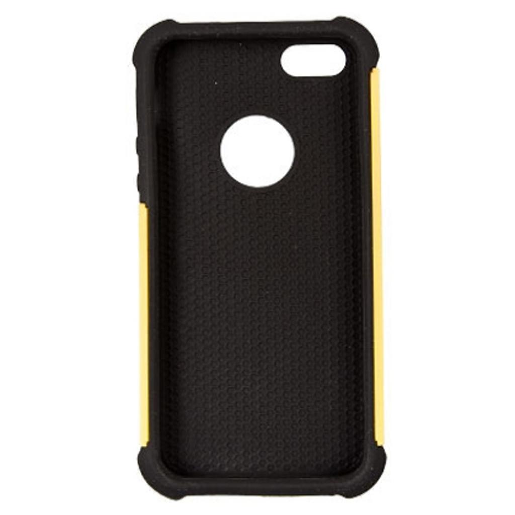 Чехол для моб. телефона Drobak для Apple Iphone 5/Anti-Shock/Yellow (210262) изображение 3