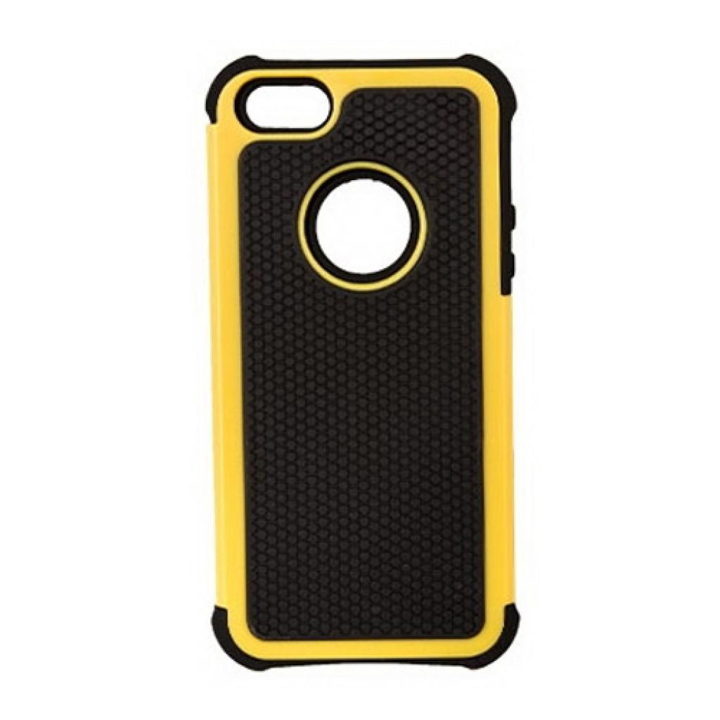 Чехол для моб. телефона Drobak для Apple Iphone 5/Anti-Shock/Yellow (210262)