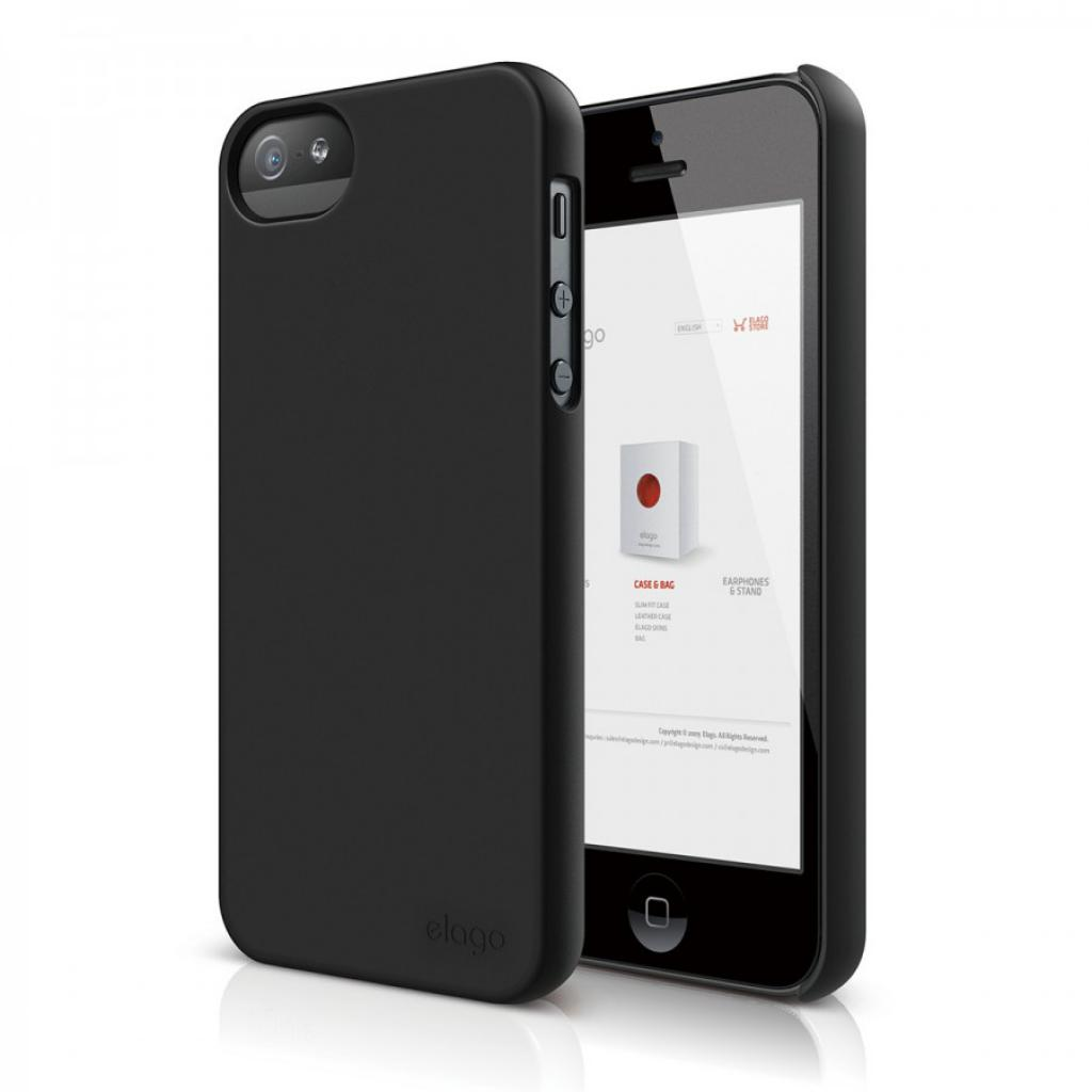 Чехол для моб. телефона ELAGO для iPhone 5 /Slim Fit 2 Soft/DarkGray (ELS5SM2-SFDGY-RT)