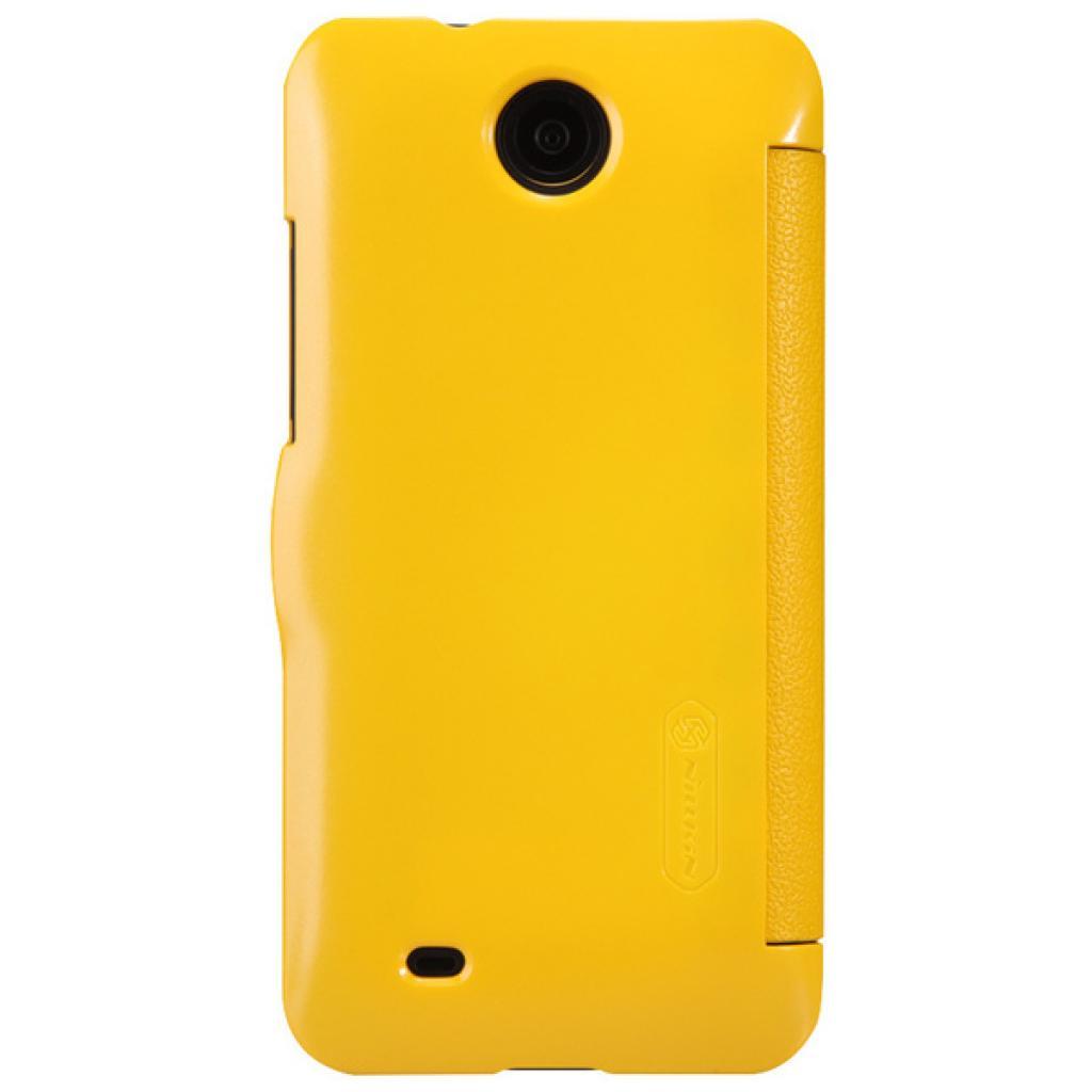 Чехол для моб. телефона NILLKIN для HTC Desire 300-Fresh/ Leather/Yellow (6120401) изображение 2