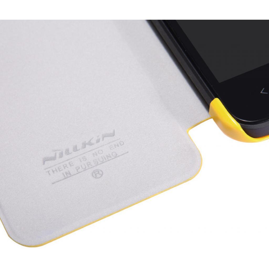 Чехол для моб. телефона NILLKIN для HTC Desire 300-Fresh/ Leather/Yellow (6120401) изображение 4