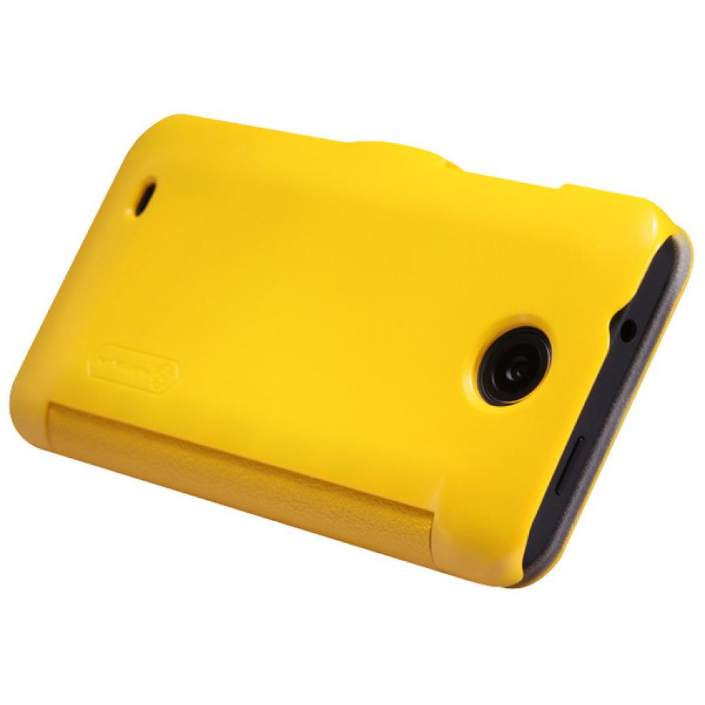 Чехол для моб. телефона NILLKIN для HTC Desire 300-Fresh/ Leather/Yellow (6120401) изображение 5