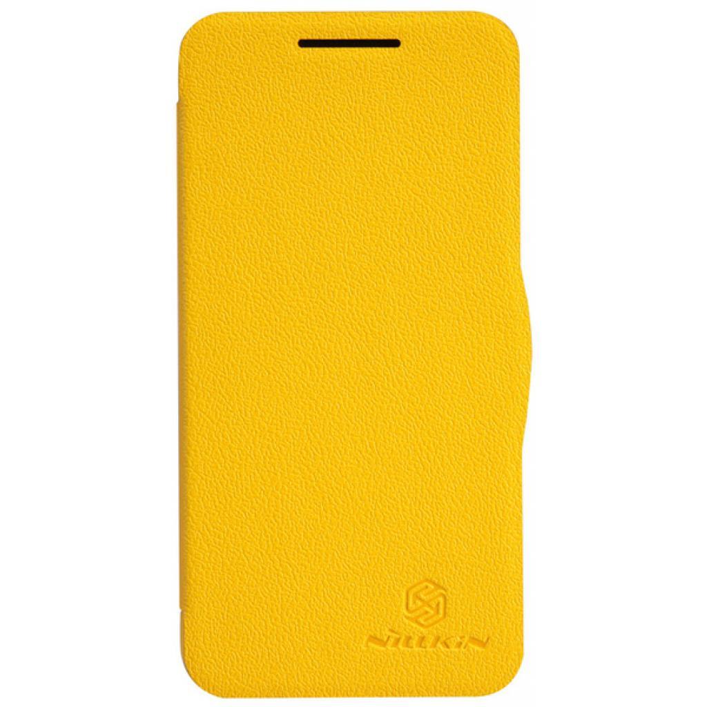 Чехол для моб. телефона NILLKIN для HTC Desire 300-Fresh/ Leather/Yellow (6120401)