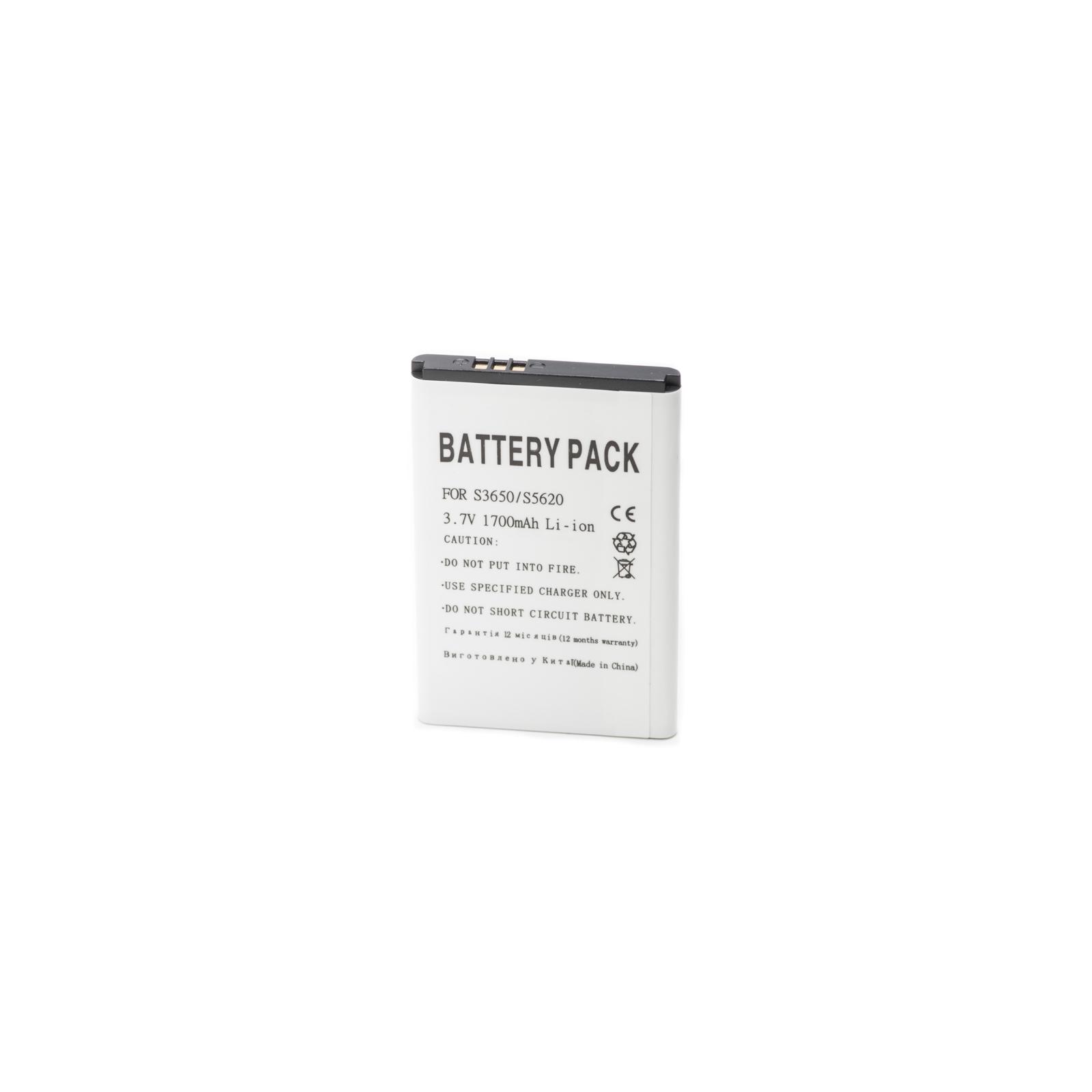 Аккумуляторная батарея PowerPlant Samsung S3650, S5620, | AB463651BEC, AB463651BU | (DV00DV6077)