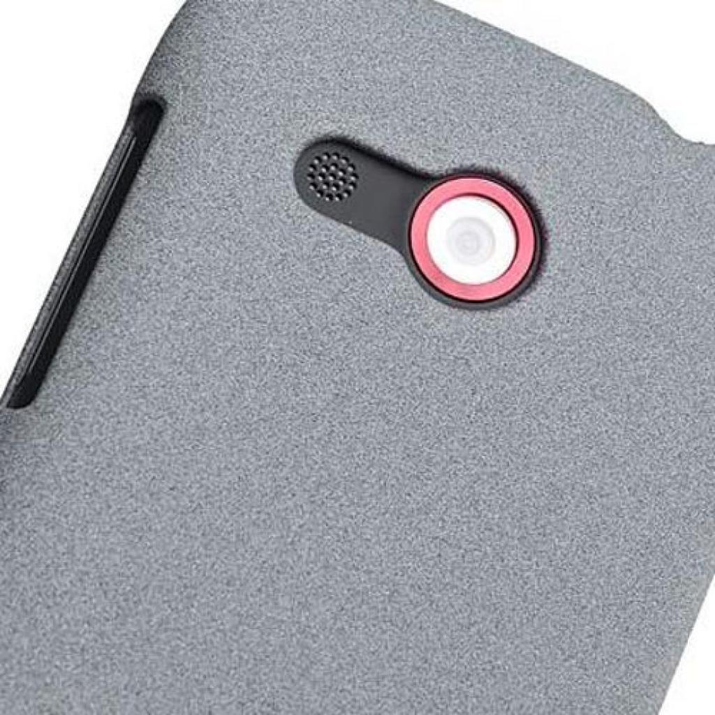 Чехол для моб. телефона Rock HTC desire c quicksand series light grey (desire c-35342) изображение 3