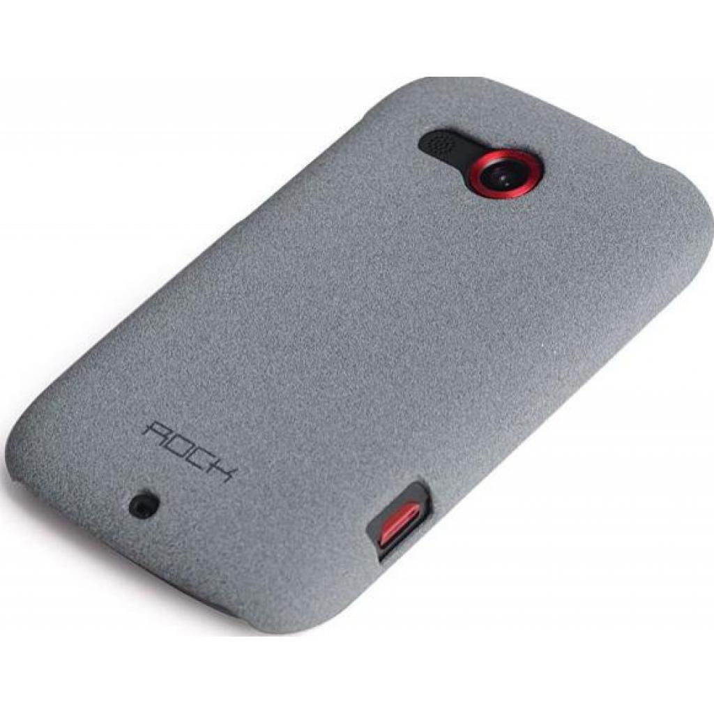 Чехол для моб. телефона Rock HTC desire c quicksand series light grey (desire c-35342)