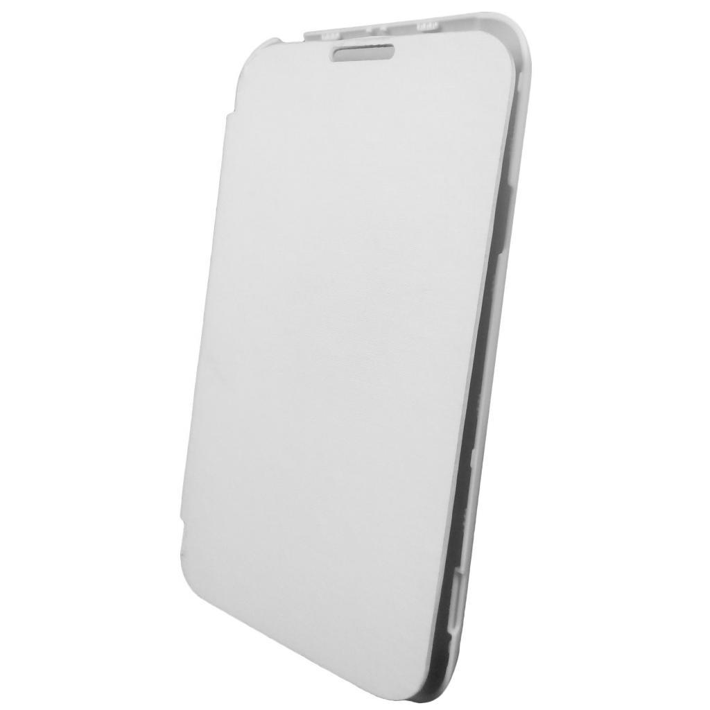 Чехол для моб. телефона GLOBAL для LG D160 L40 (PU, белый) (1283126459801) изображение 2