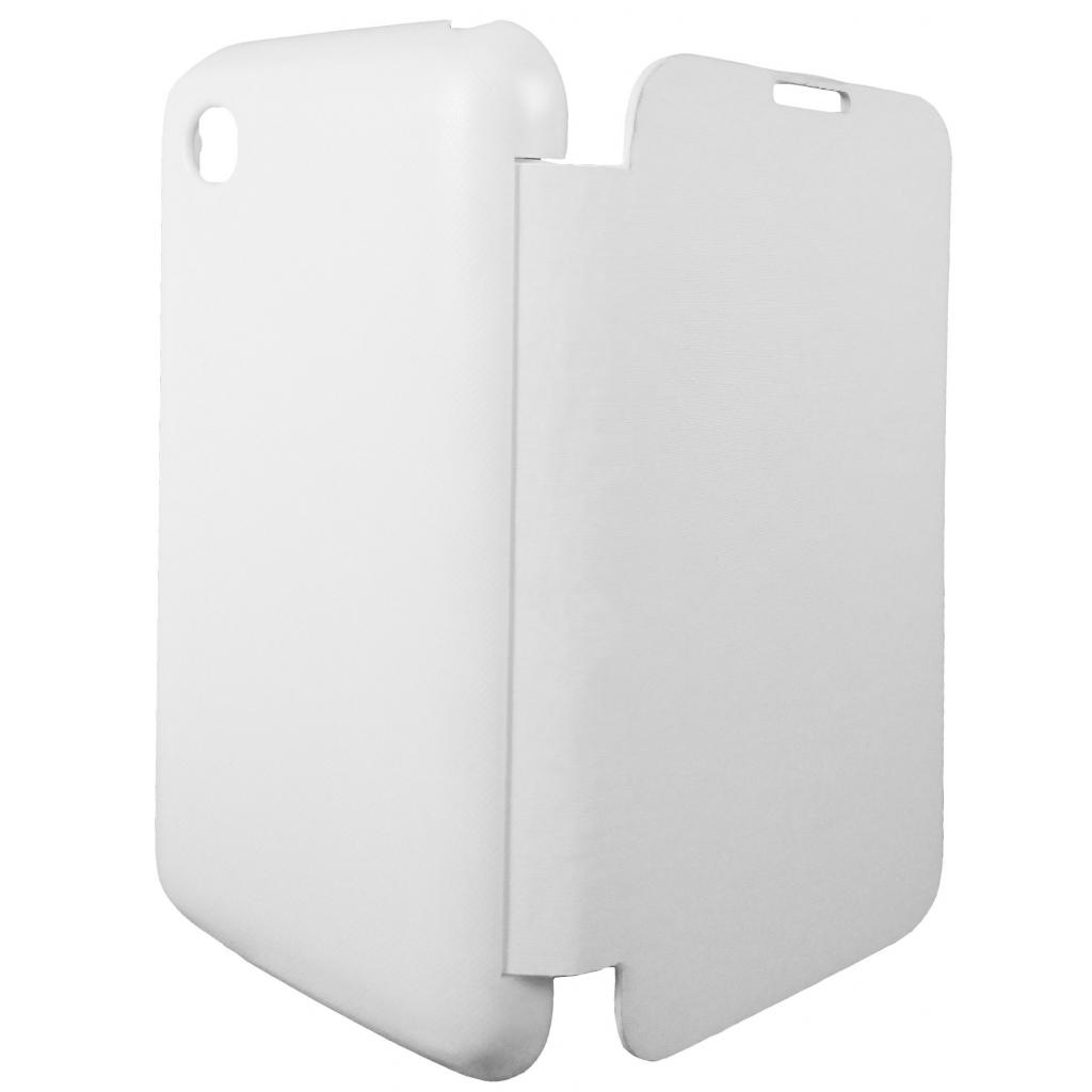 Чехол для моб. телефона GLOBAL для LG D160 L40 (PU, белый) (1283126459801)
