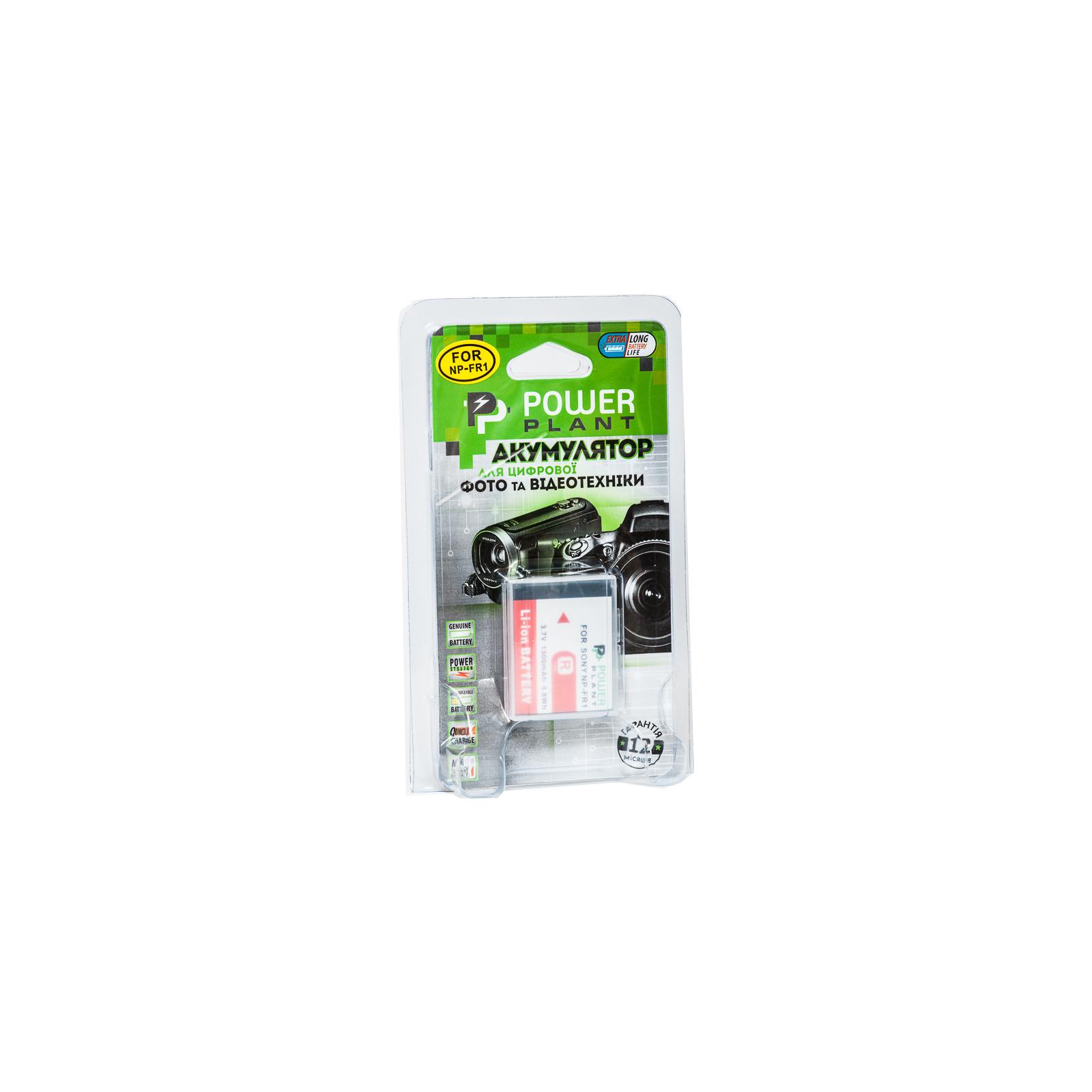 Аккумулятор к фото/видео PowerPlant Sony NP-FR1 (DV00DV1021) изображение 3