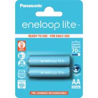 Аккумулятор PANASONIC Eneloop Lite AA 950mAh NI-MH * 2 (BK-3LCCE/2BE)