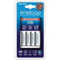 Зарядное устройство для аккумуляторов PANASONIC Smart-Quick Charger+ Eneloop 4AA 1900 mAh NI-MH (K-KJ16MCC40E)