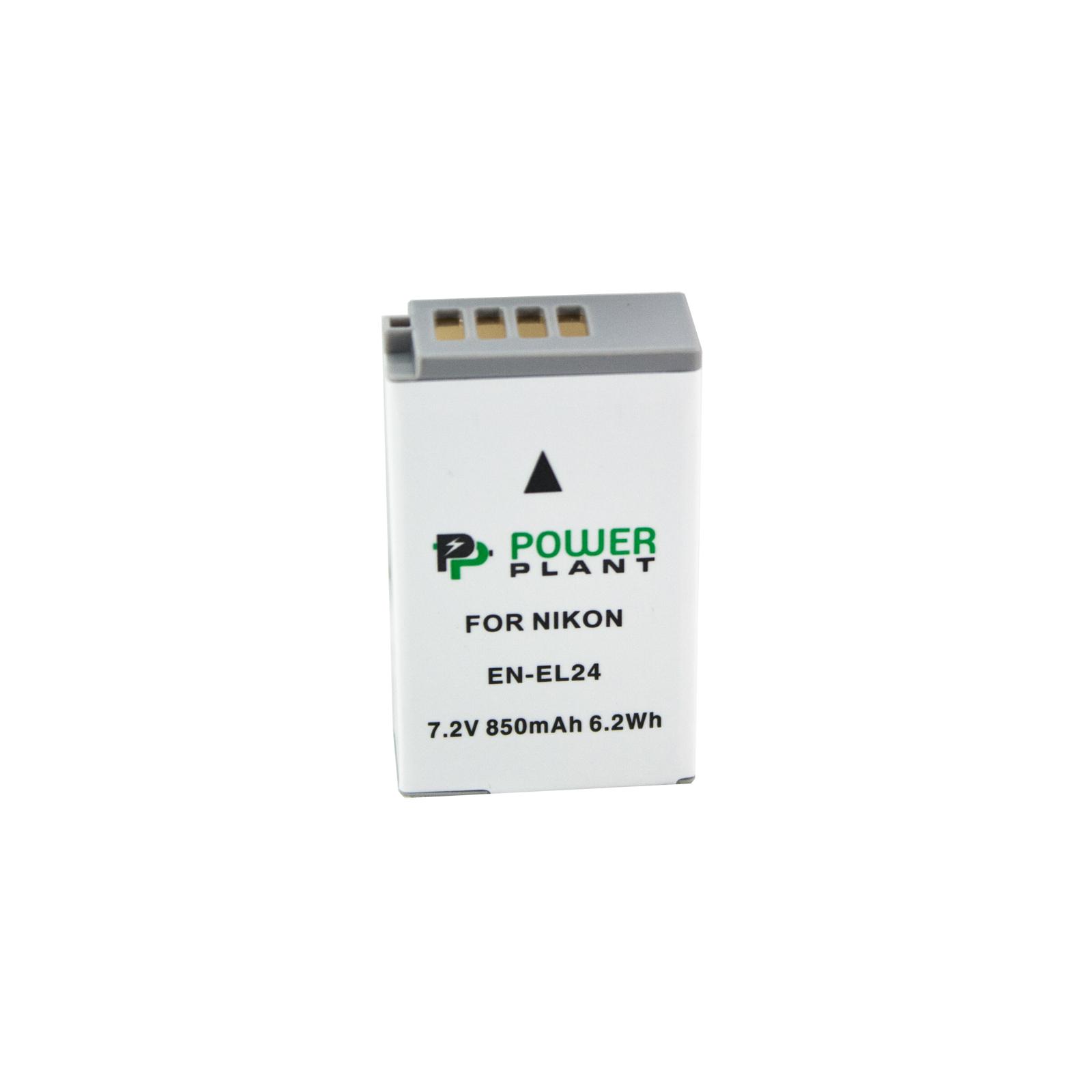 Аккумулятор к фото/видео PowerPlant Nikon EN-EL24 (DV00DV1407)