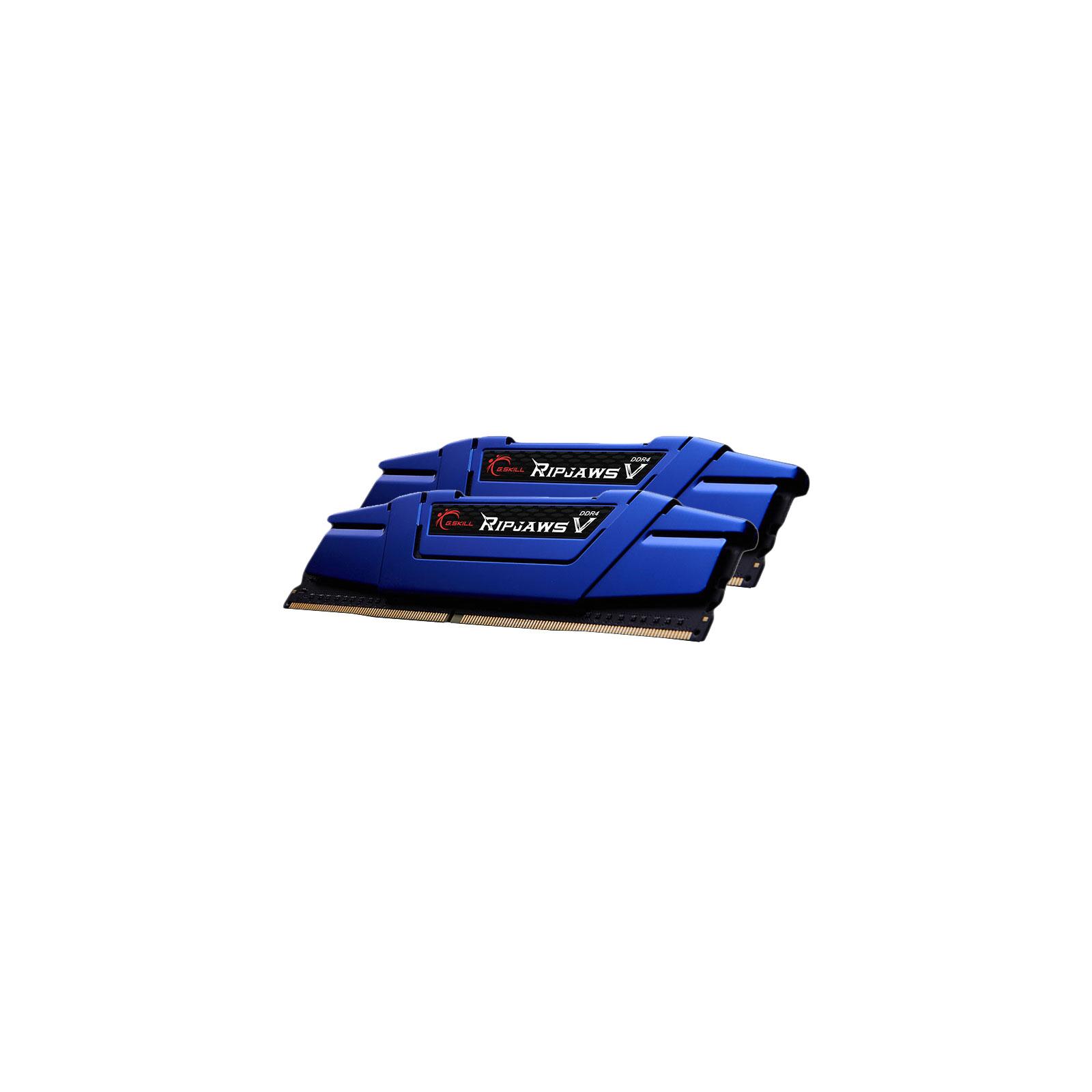 Модуль памяти для компьютера DDR4 16GB (2x8GB) 2400 MHz Ripjaws V G.Skill (F4-2400C15D-16GVB) изображение 2