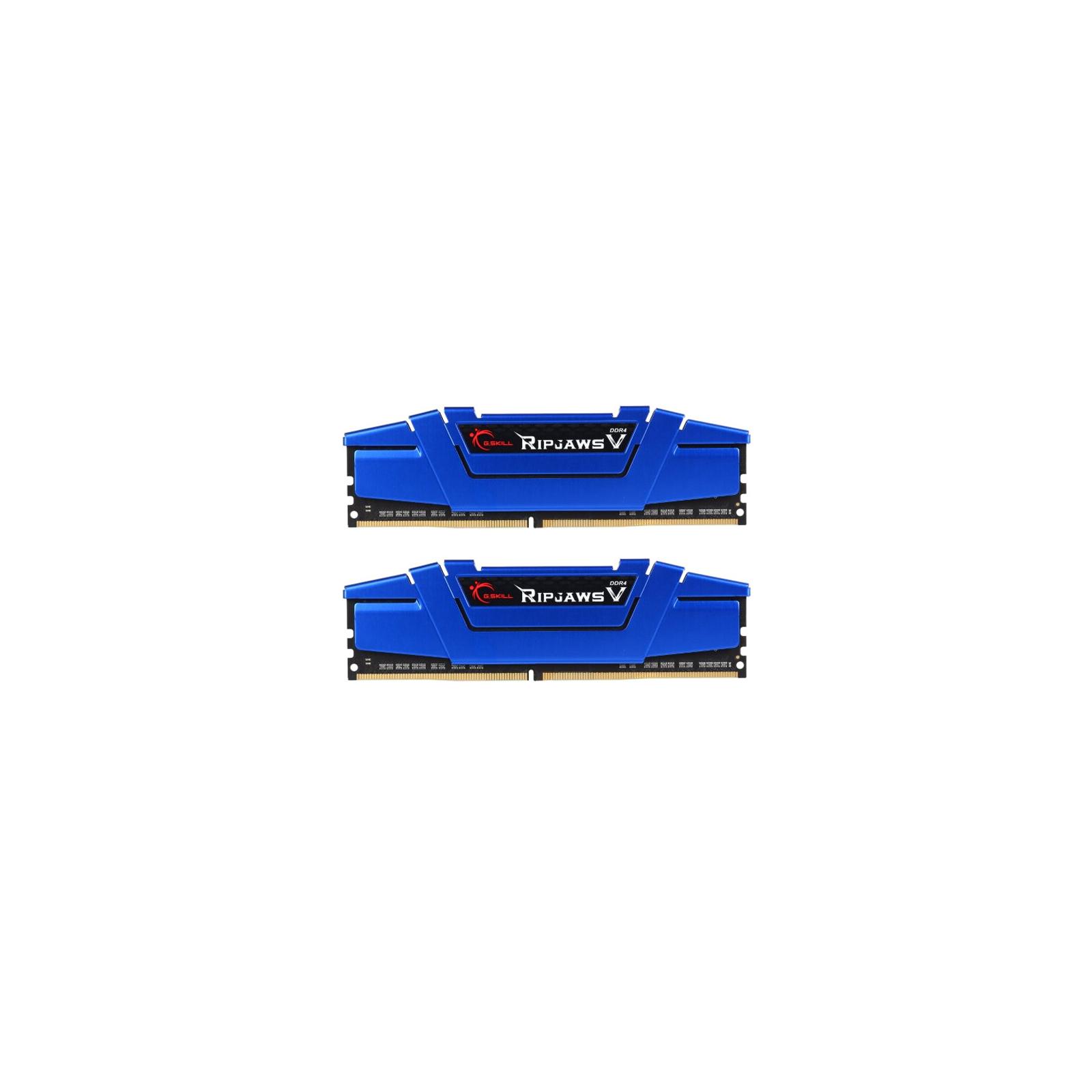 Модуль памяти для компьютера DDR4 16GB (2x8GB) 2400 MHz Ripjaws V G.Skill (F4-2400C15D-16GVB)