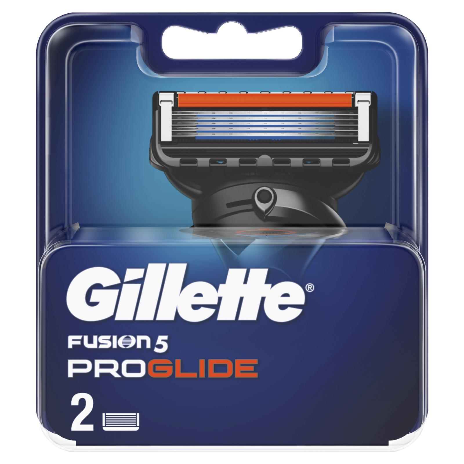 Сменные кассеты Gillette Fusion ProGlide 2 шт (7702018085897) изображение 2