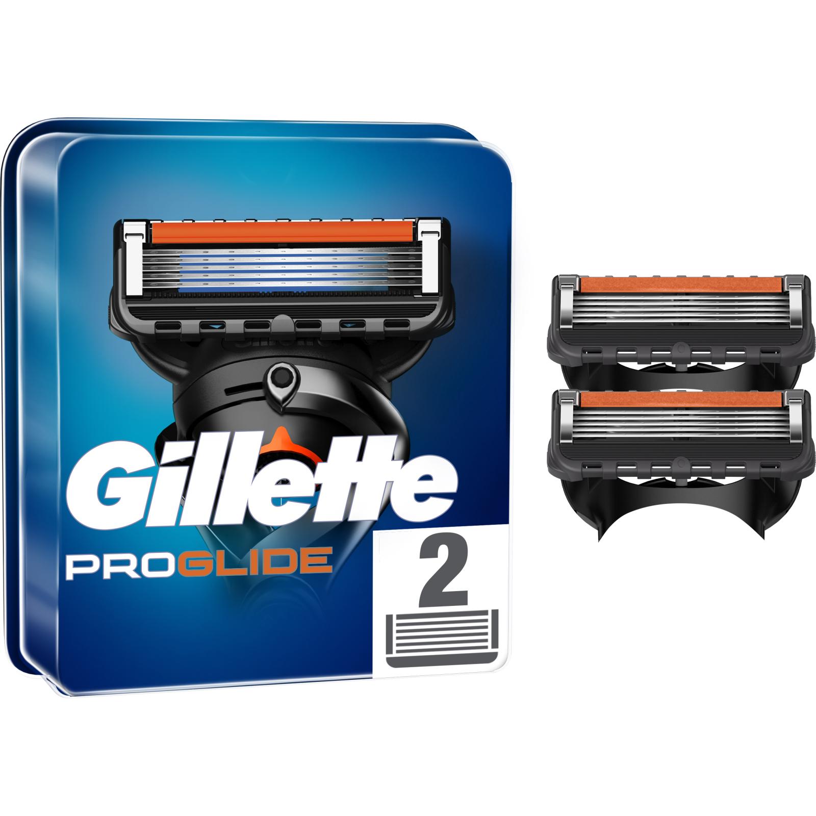 Сменные кассеты Gillette Fusion ProGlide 2 шт (7702018085897)