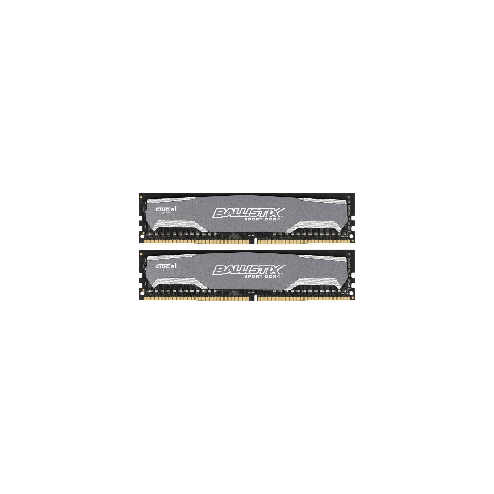Модуль памяти для компьютера DDR4 16GB (2x8GB) 2400 MHz Ballistix Sport MICRON (BLS2C8G4D240FSA)