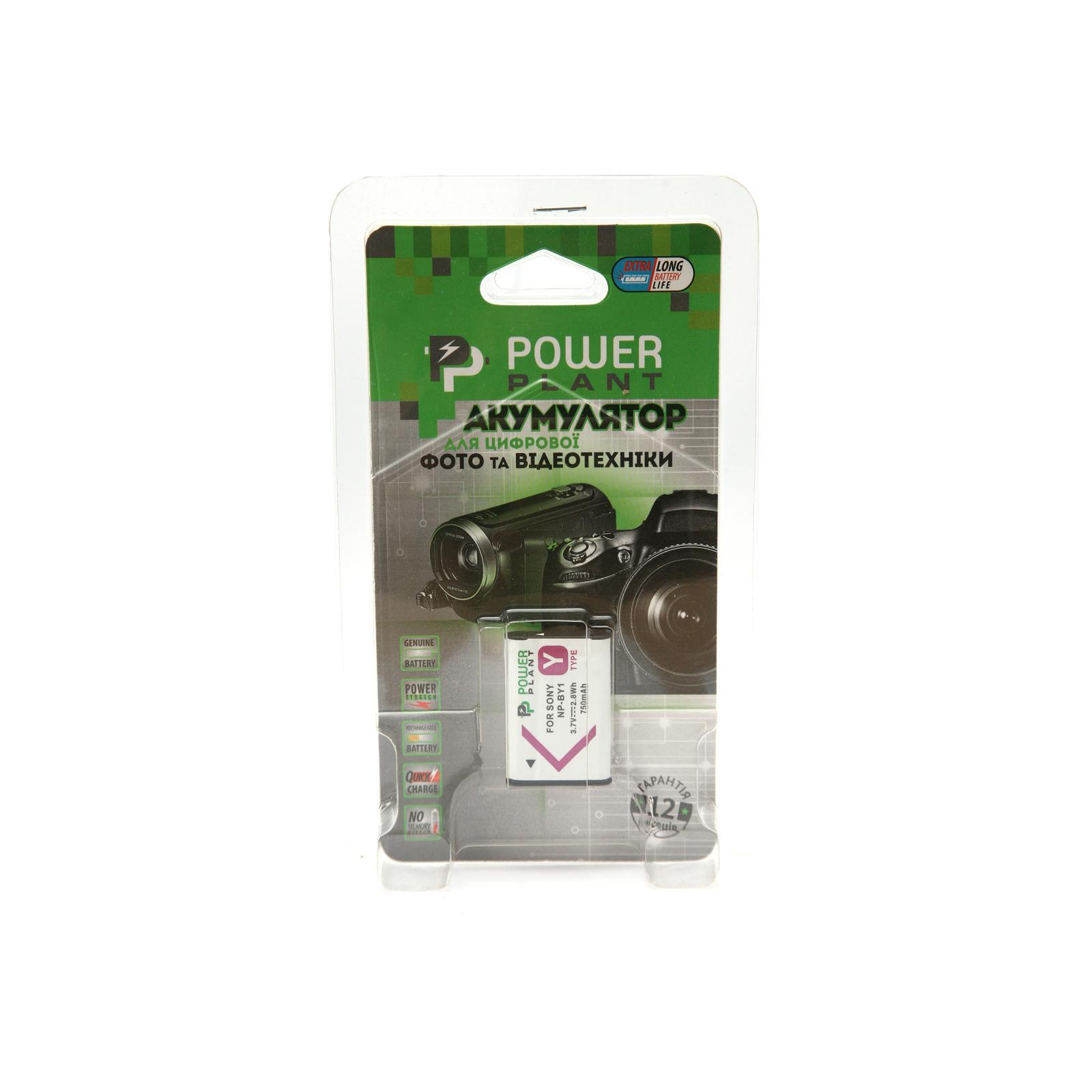 Аккумулятор к фото/видео PowerPlant Sony NP-BY1 (DV00DV1409) изображение 2