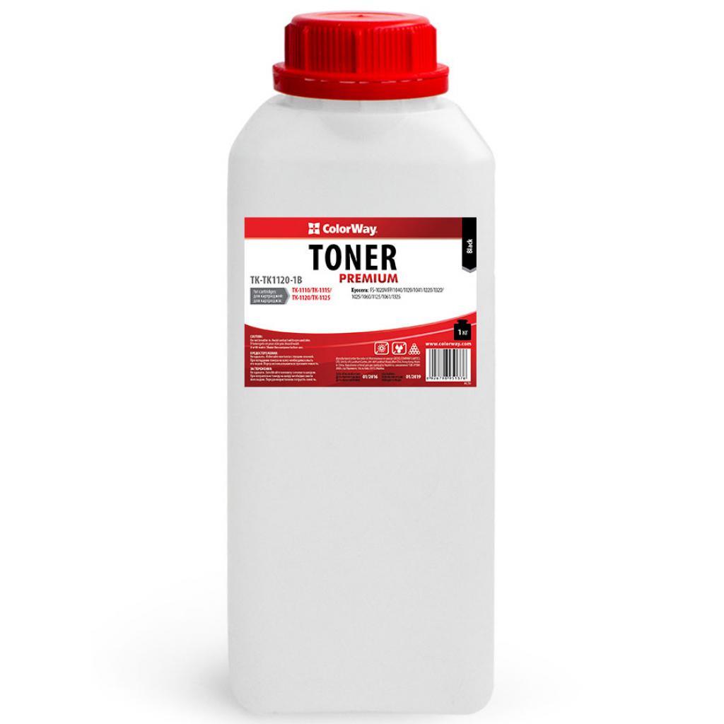 Тонер Kyocera TK-1110/ТК-1115/ТК-1120/ТК-1125 ColorWay (TK-TK1120-1B)