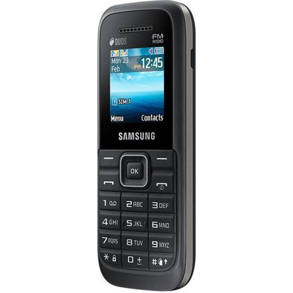Мобильный телефон Samsung SM-B110E (Keystone 3 DS) Black (SM-B110EZKASEK) изображение 4