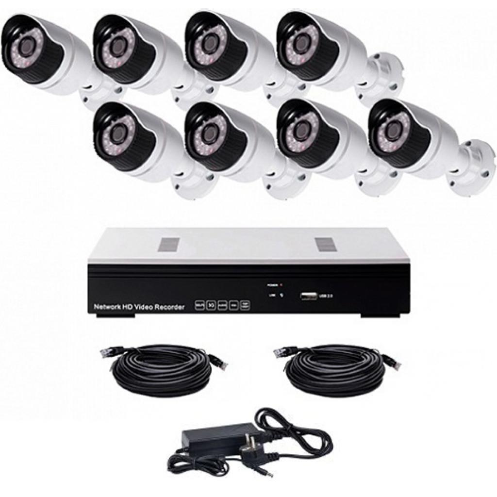 Комплект видеонаблюдения CoVi NVK-4001 IP KIT