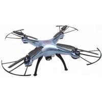 Квадрокоптер Syma X5HC blue 330мм HD камера (45103)
