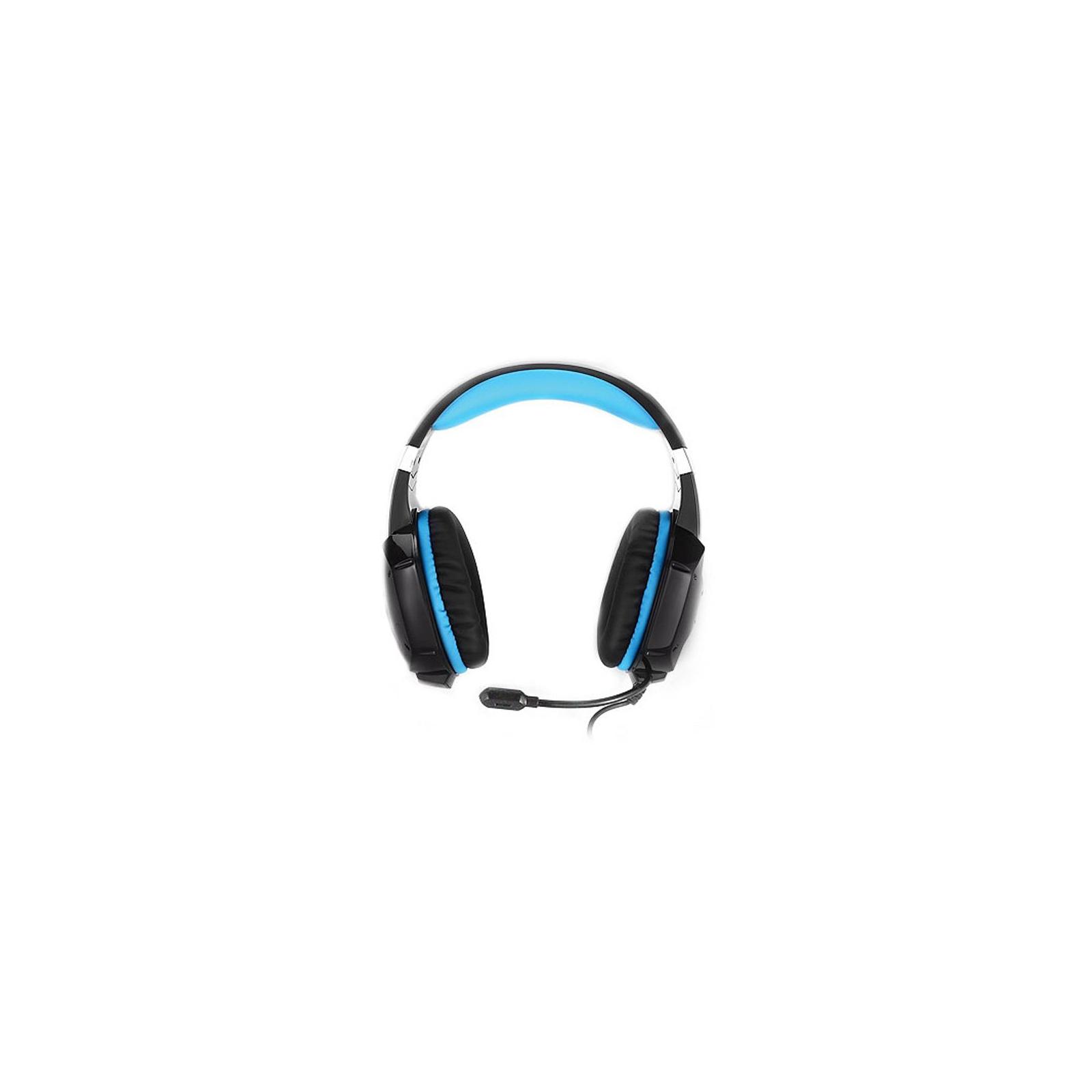 Навушники REAL-EL GDX-7500 black-blue зображення 2