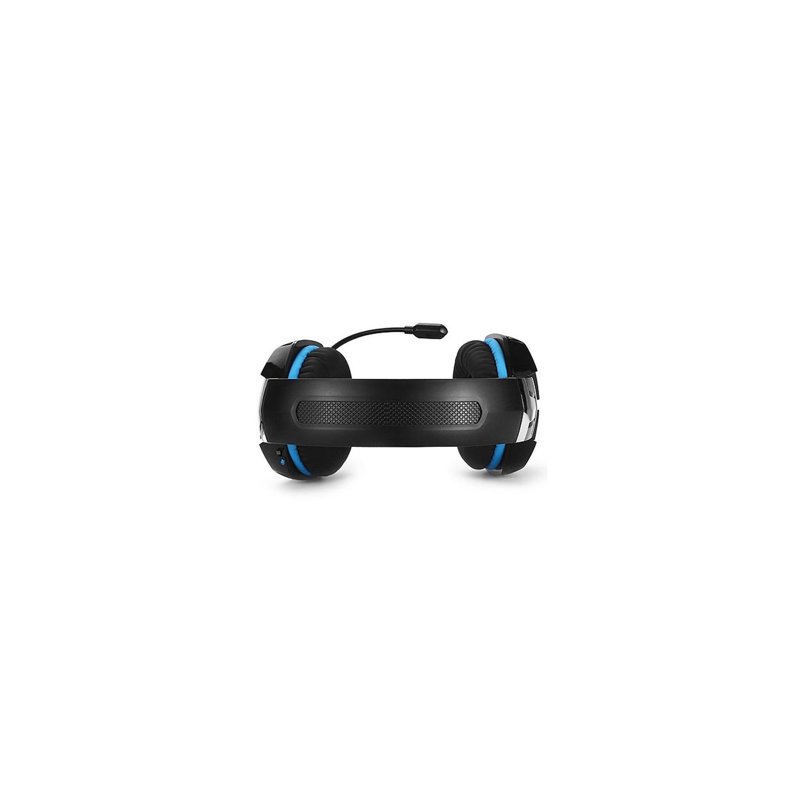 Навушники REAL-EL GDX-7500 black-blue зображення 3