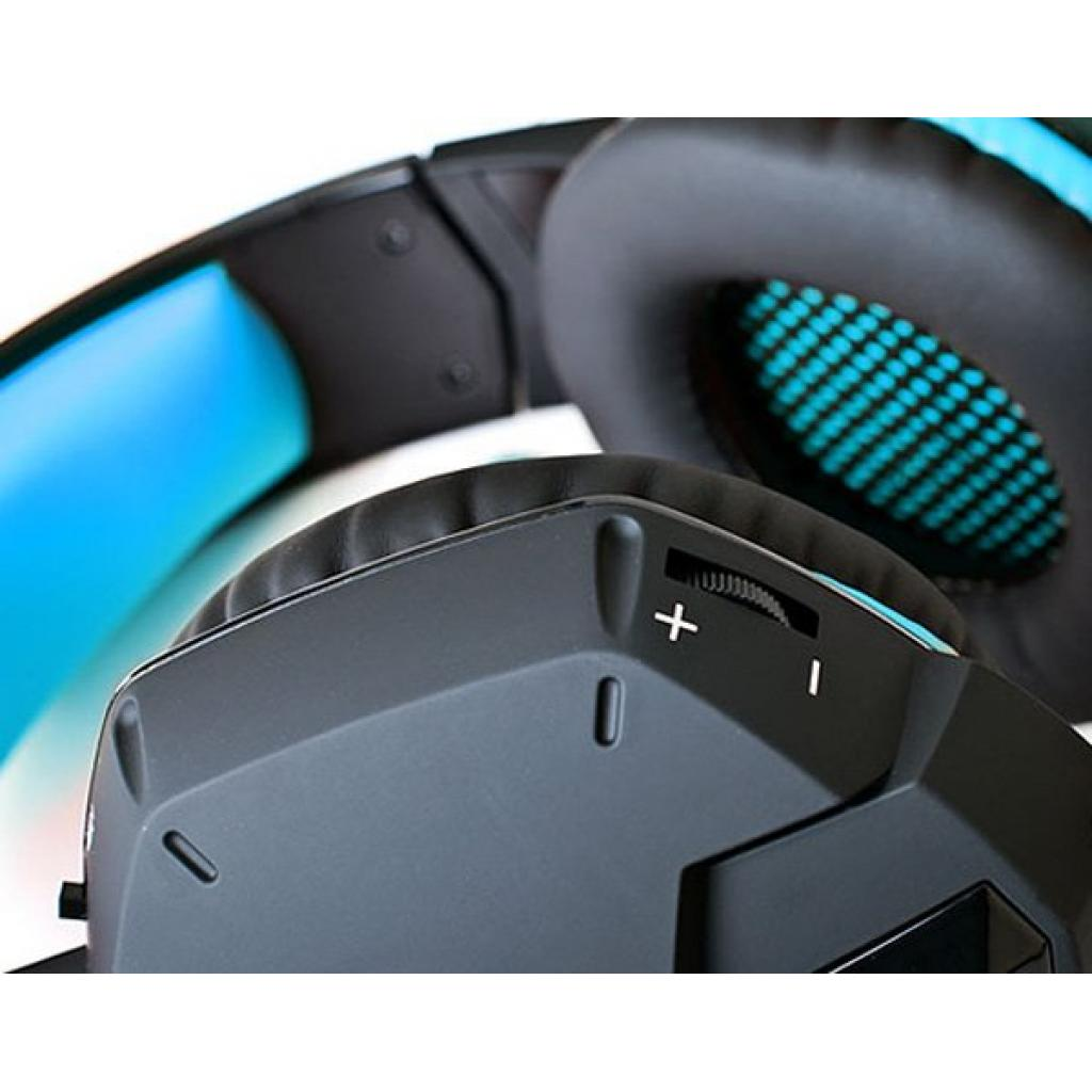Навушники REAL-EL GDX-7500 black-blue зображення 4