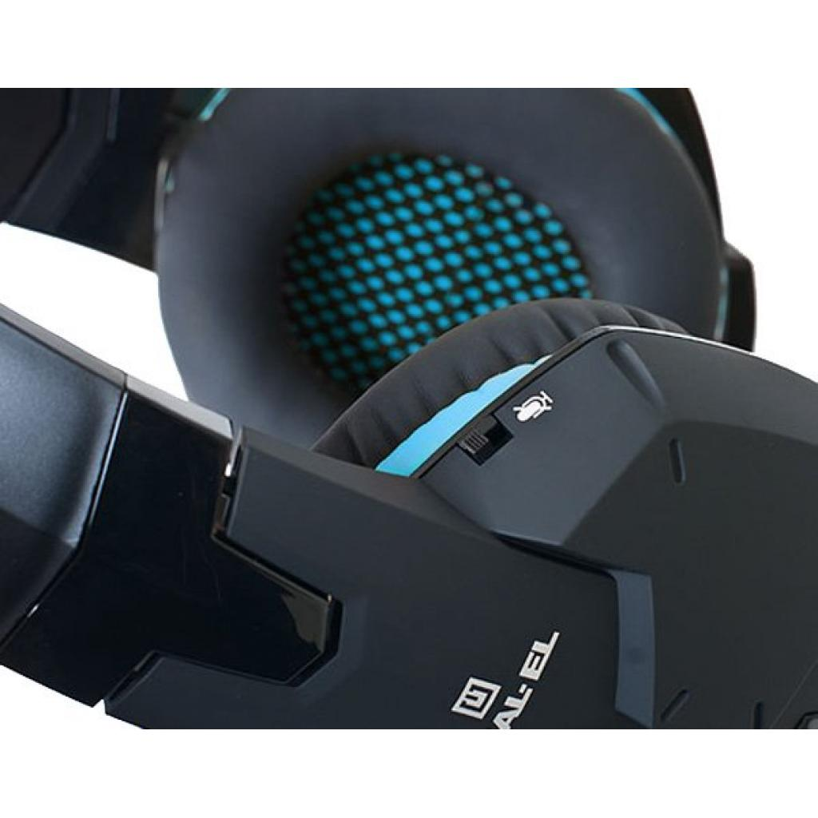 Навушники REAL-EL GDX-7500 black-blue зображення 5