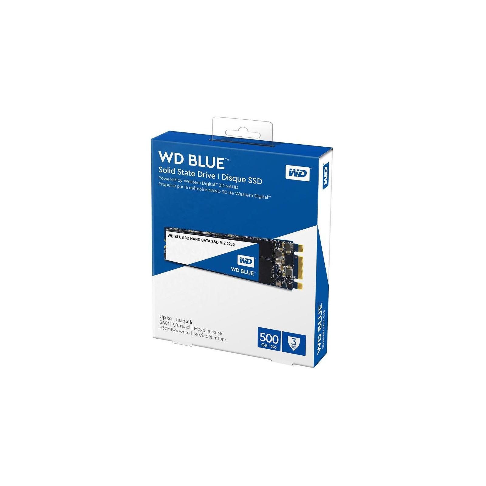 Накопитель SSD M.2 2280 2TB WD (WDS200T2B0B) изображение 3