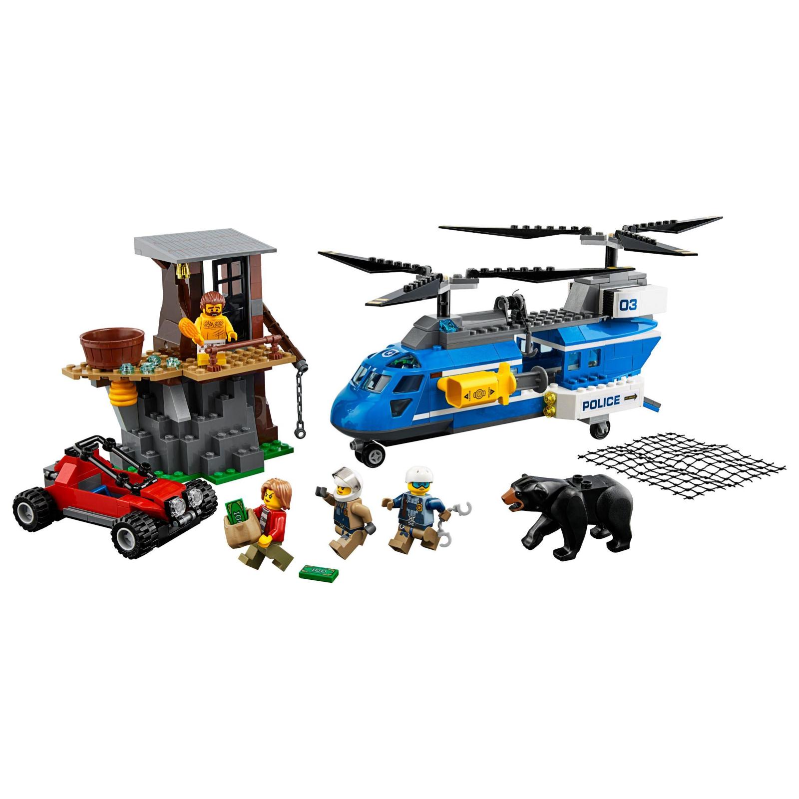 Конструктор LEGO City Police Арест в горах (60173) изображение 2