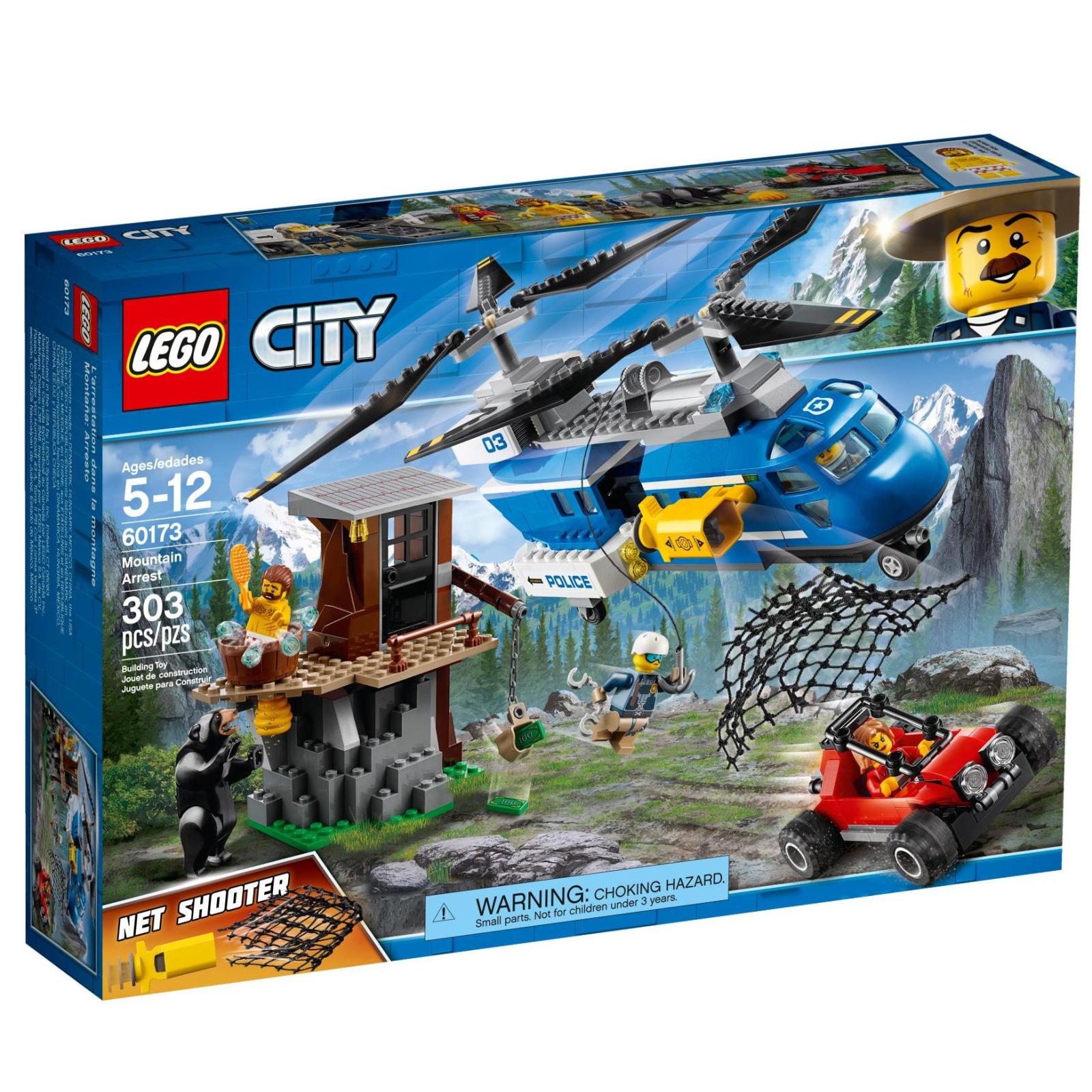 Конструктор LEGO City Police Арест в горах (60173)