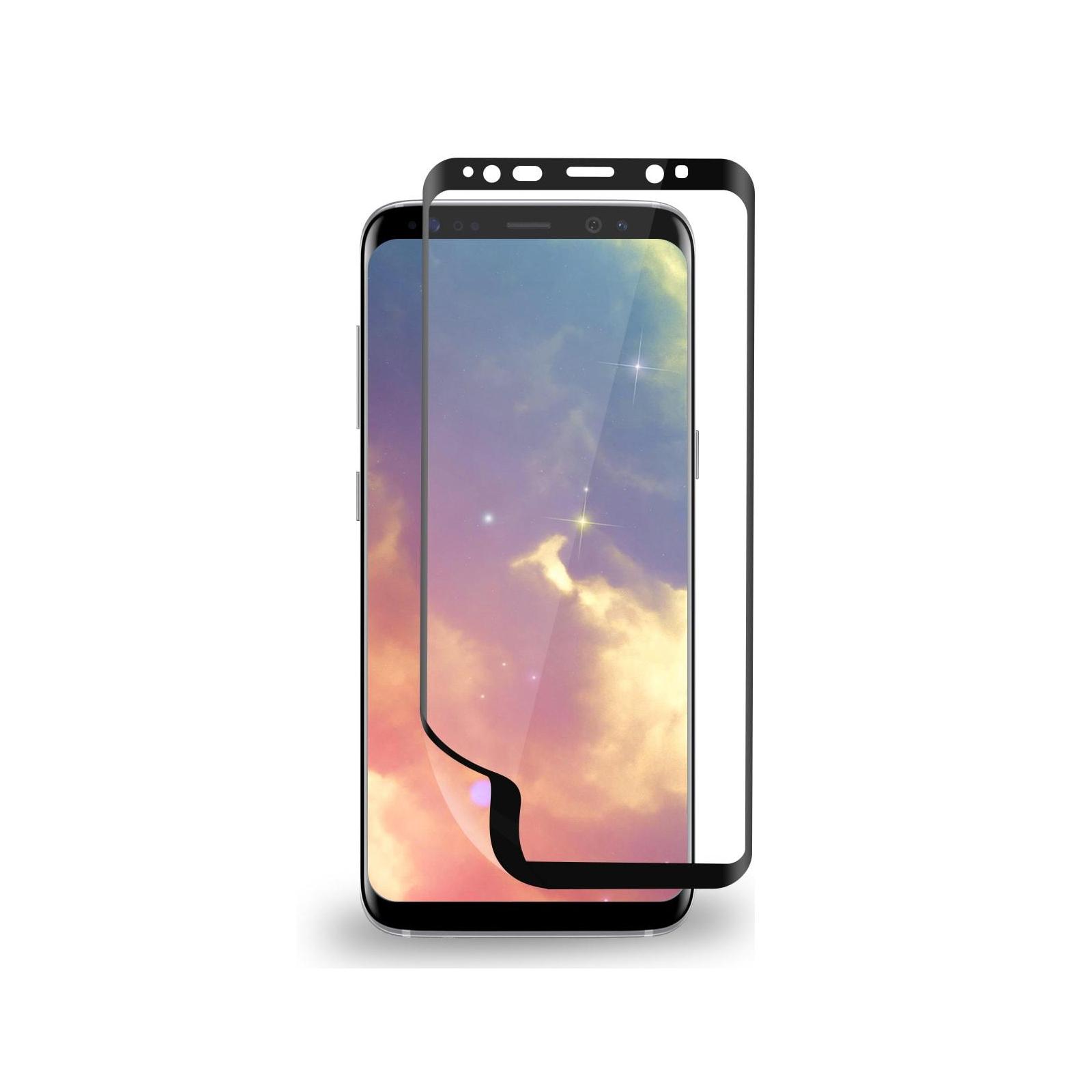 Пленка защитная MakeFuture для Samsung S8 Black 3D (MF3D-SS8B) изображение 4