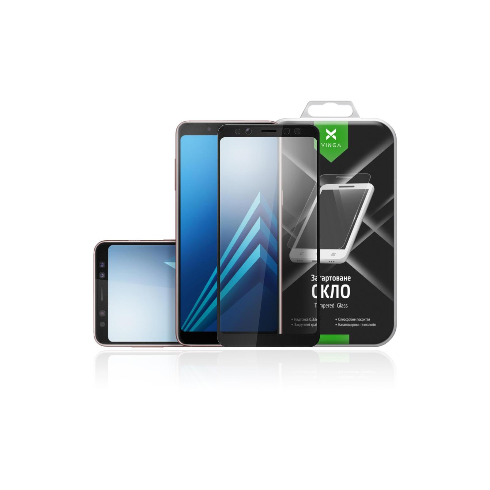 Стекло защитное Vinga для Samsung Galaxy A8 Plus (2018) A730 (VTPGS-A730)