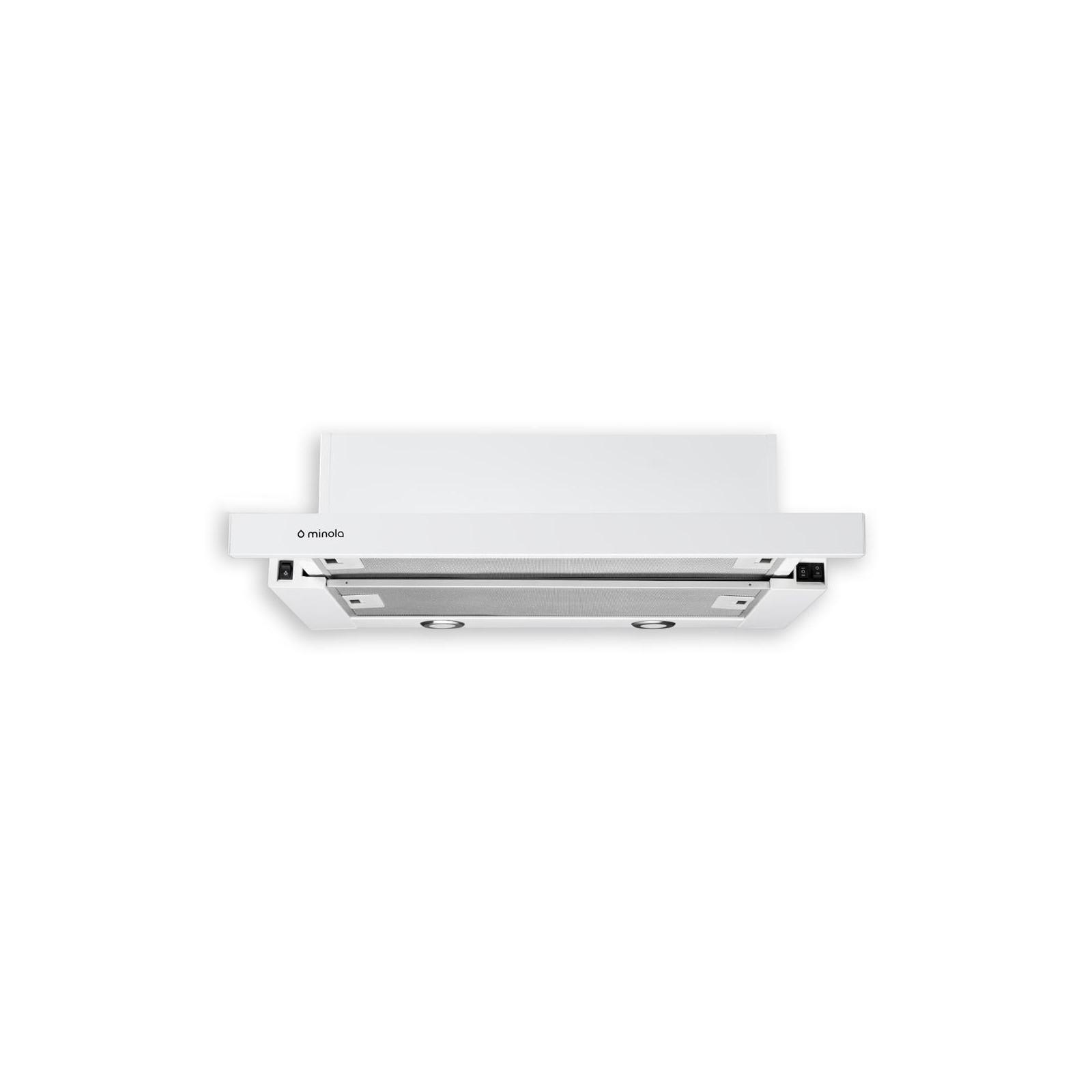 Вытяжка кухонная MINOLA HTL 6112 WH 650 LED изображение 2