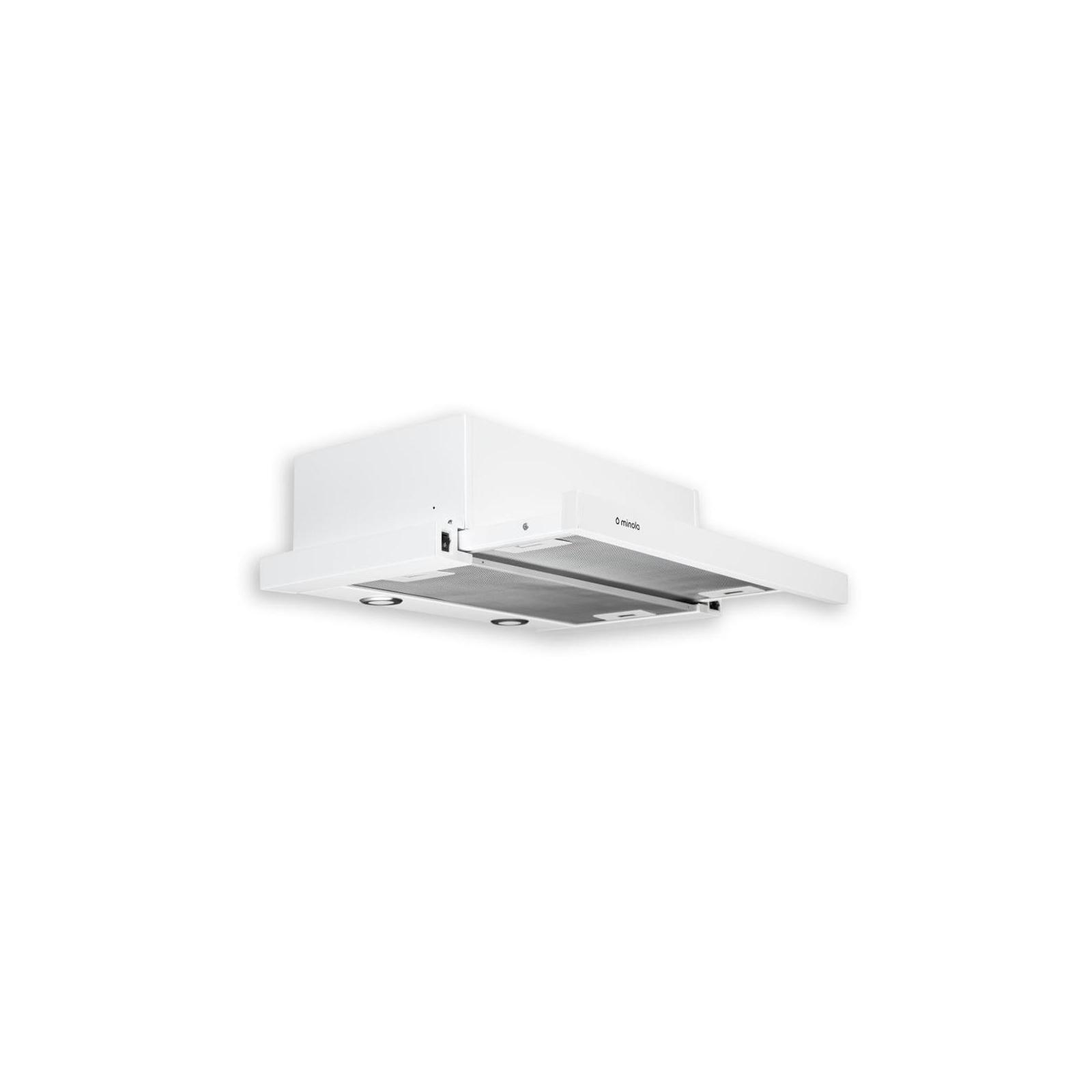 Вытяжка кухонная MINOLA HTL 6112 WH 650 LED