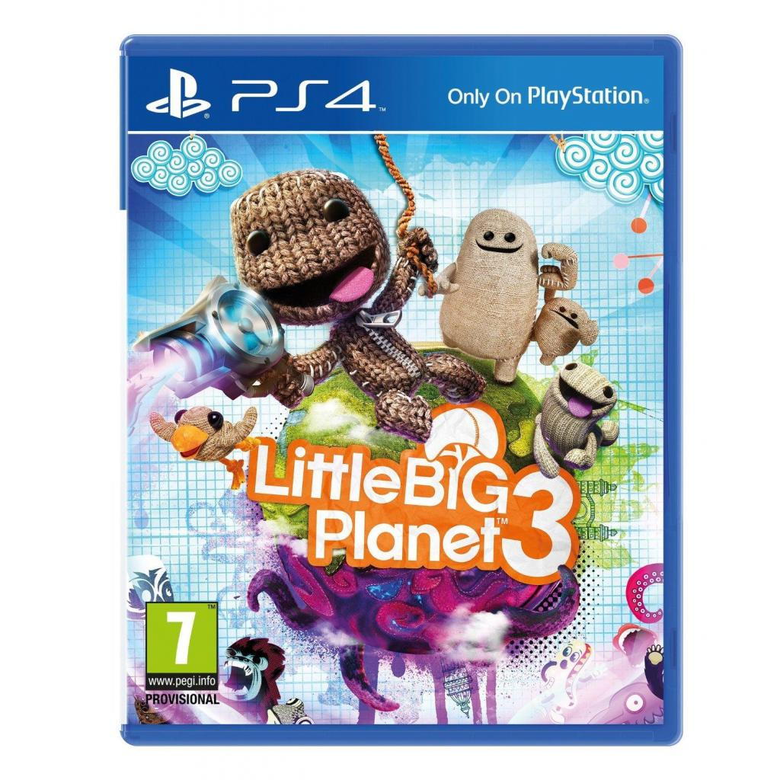 Игра SONY LittleBigPlanet3[PS4,Russianversion]Blu-ray диск (9424871)