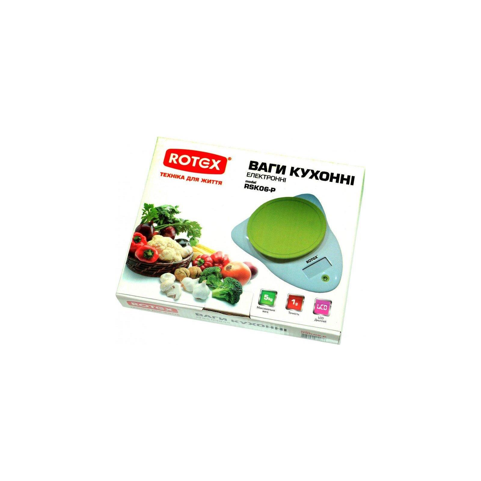 Весы кухонные Rotex RSK06-P изображение 2