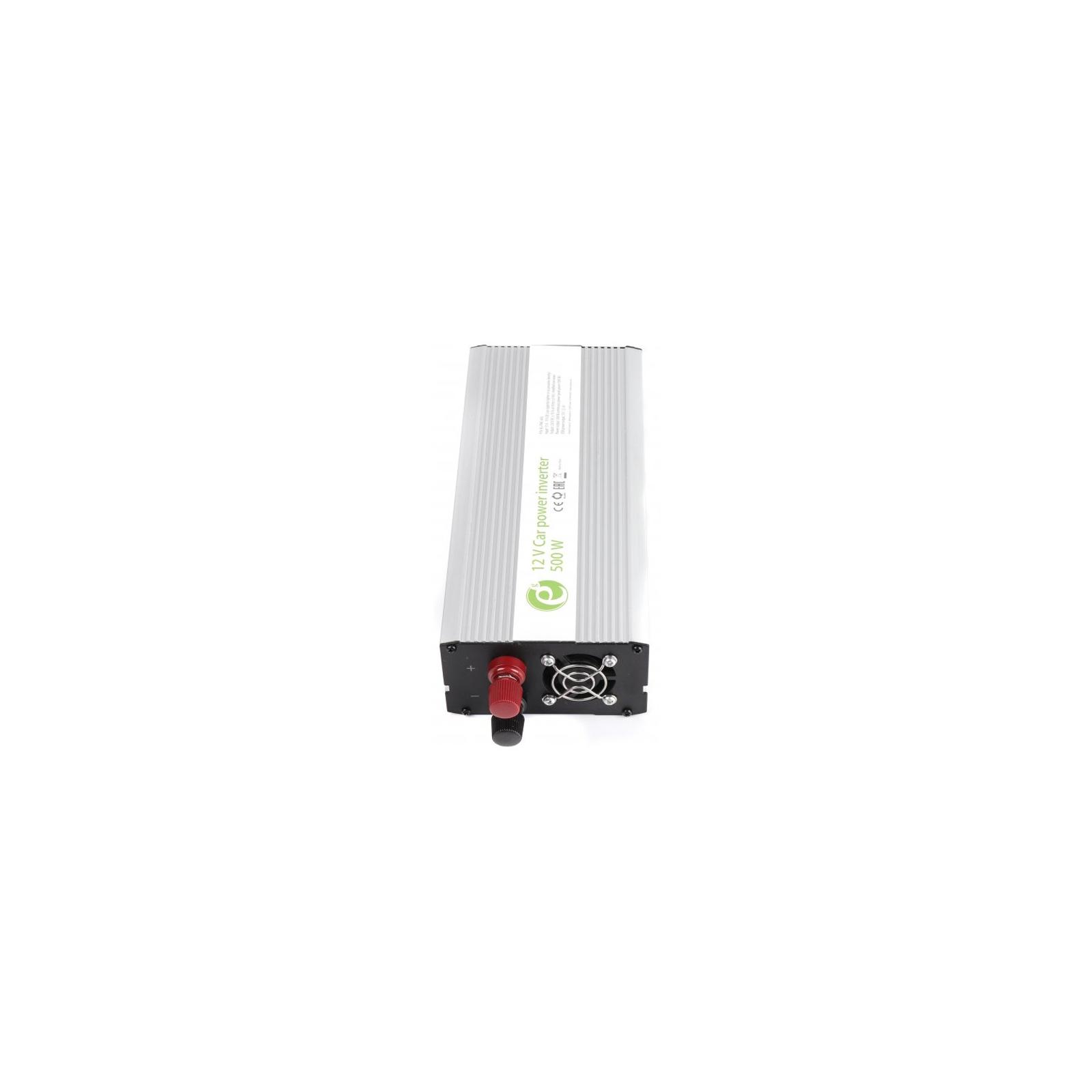 Автомобильный инвертор 12V/220V 500 Вт EnerGenie (EG-PWC-043) изображение 2