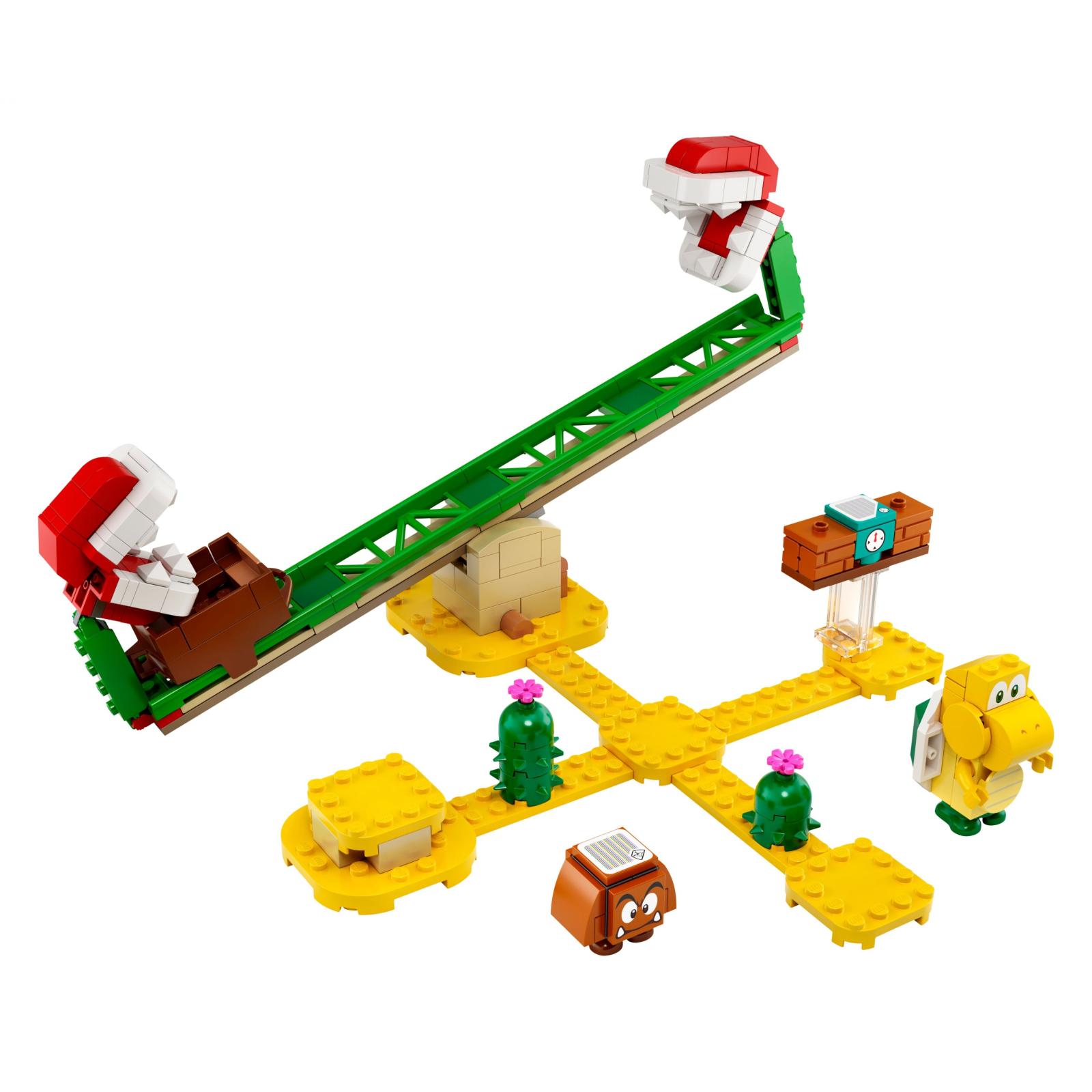 Конструктор LEGO Super Mario Мощная атака Растения-пираньи (71365) изображение 2