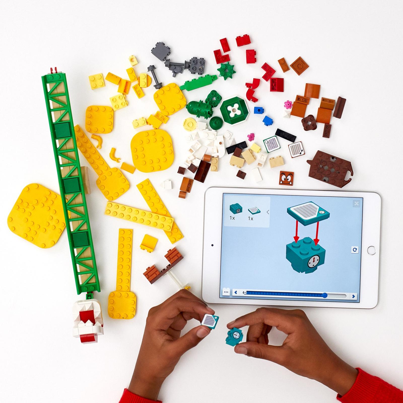 Конструктор LEGO Super Mario Мощная атака Растения-пираньи (71365) изображение 3